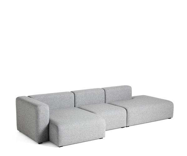 HAY Mags 3 Sofa - Combination 4 - Hallingdal 130