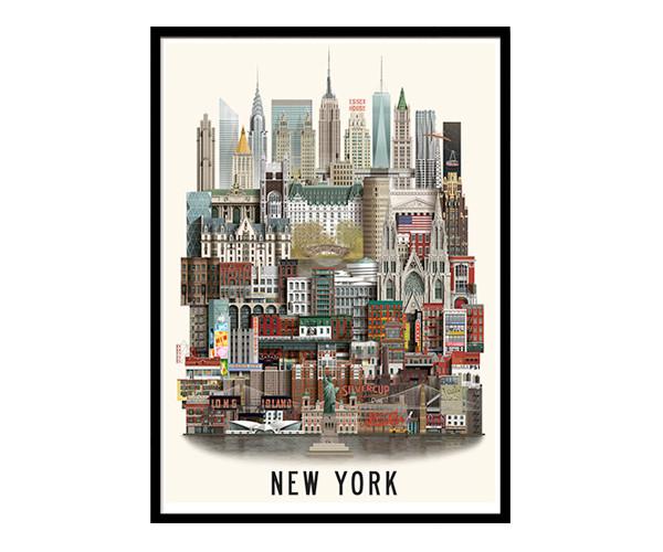 martin schwartz new york 50x70cm poster. Black Bedroom Furniture Sets. Home Design Ideas