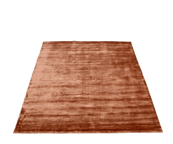 Massimo Bamboo tæppe copper