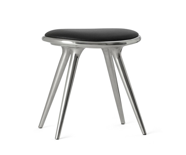 Mater barstol recycled aluminium - H: 47cm