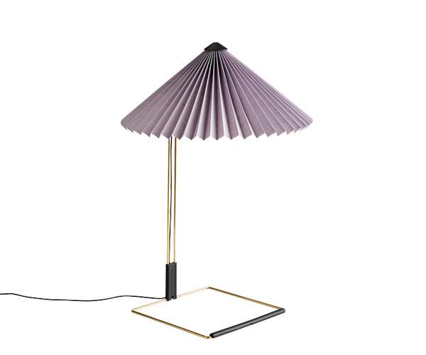 HAY Matin Bordlampe - Large - Lavendel
