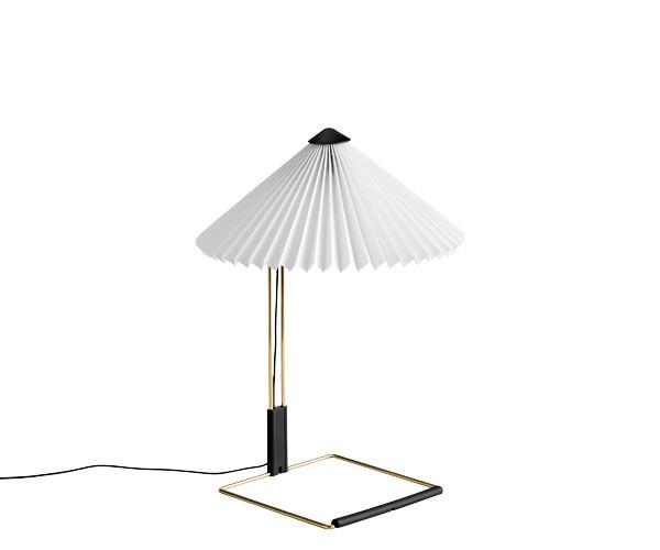 HAY Matin Bordlampe - Small - Hvid