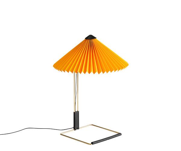 HAY Matin Bordlampe - Small - Gul