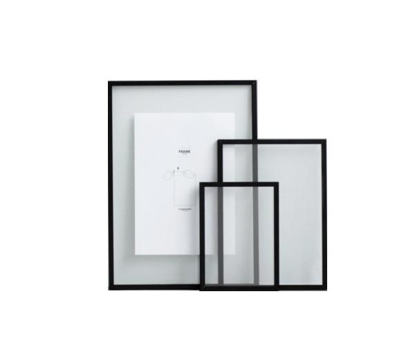 Moebe Frame Sort Aluminium - A4