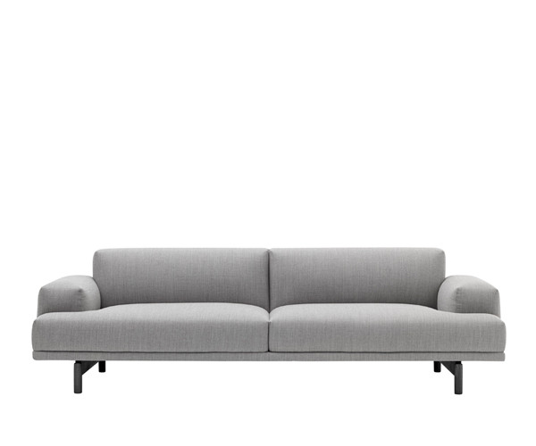 3 pers sofa Muuto Compose 3 Pers. Sofa   Fiord 151 Stof   Sofaer   Sofaer 3 pers sofa