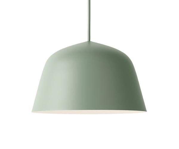 Oppdatert Muuto Ambit Pendel Lampe - Small - Dusty Green - Pendel - Belysning OR-35