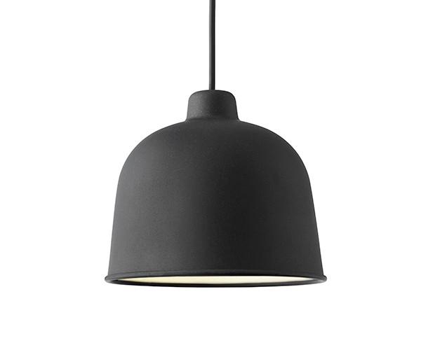 Muuto Grain Pendel Lampe Black