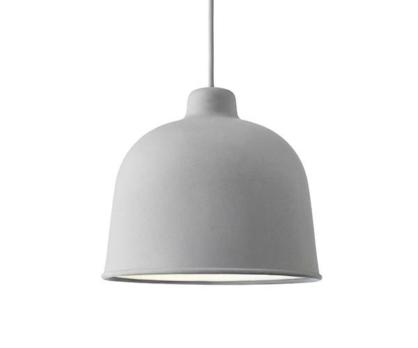 Muuto Grain Pendel Lampe Grey