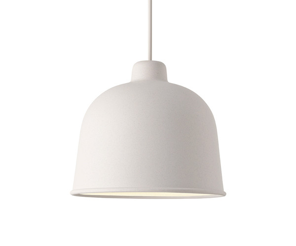 Muuto Grain Pendel Lampe White