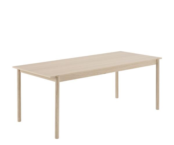 Muuto Linear Spisebord - Eg - 200cm