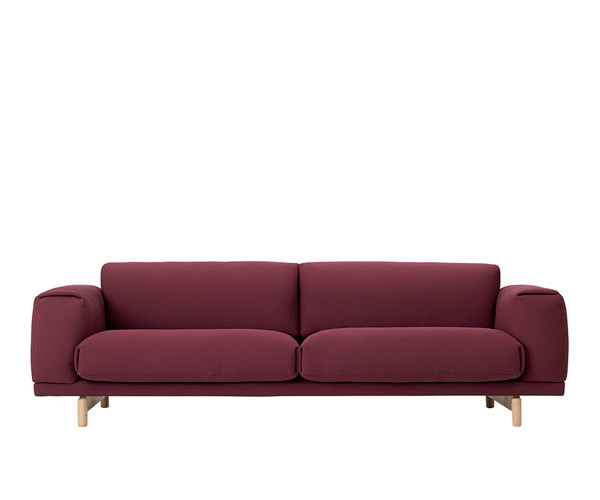 Muuto Rest Sofa 3 Pers. - Rime 591
