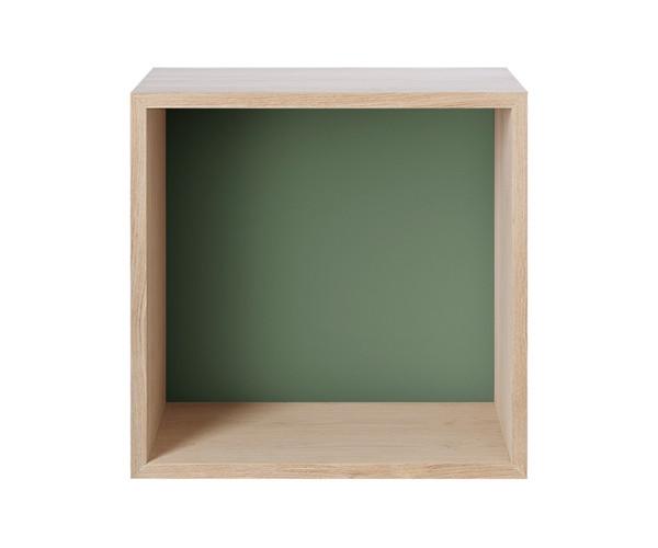 MUUTO Stacked Modul Medium med Bagbeklædning i Green