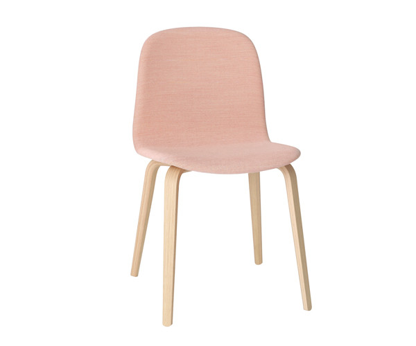 Muuto Visu Chair - Oak Woodbase - Steelcut trio 515