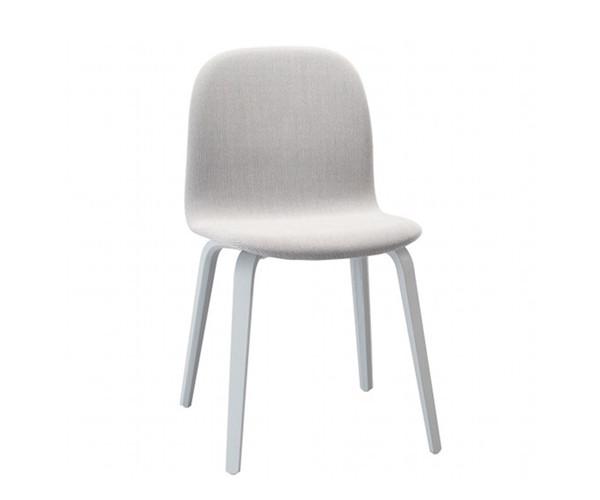 Muuto Visu Chair - Grey Woodbase - Steelcut Trio 133