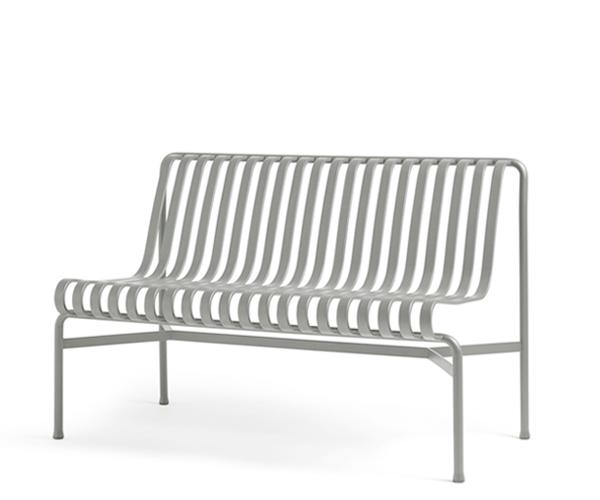 HAY Palissade Dining Bench - Sky Grey - Uden Arm
