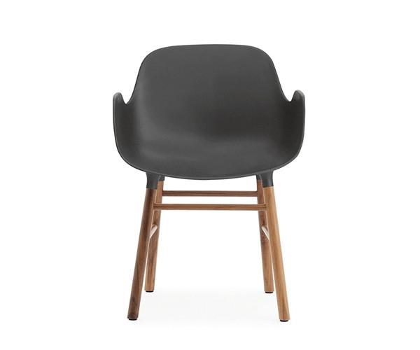 Normann Copenhagen Form Armchair - Valnød