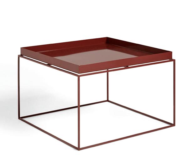HAY Tray Table - 60x60cm - Chocolate