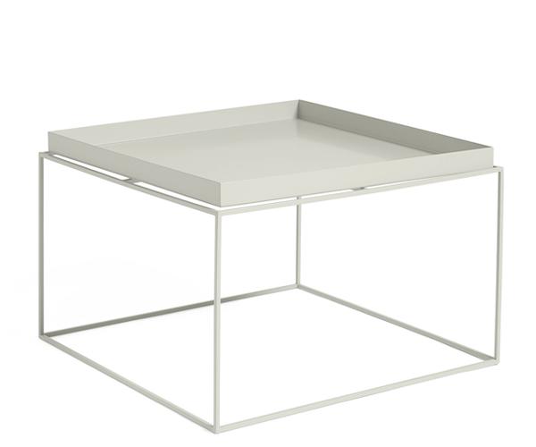 HAY Tray Table - 60x60cm - Warm Grey