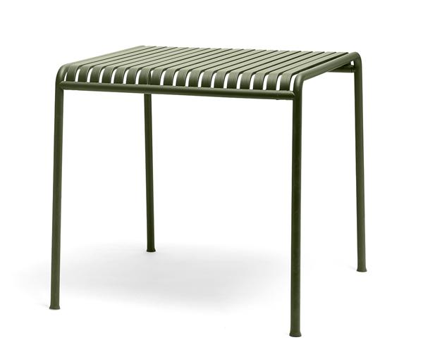 HAY Palissade Spisebord - 82.5x90 - Olive