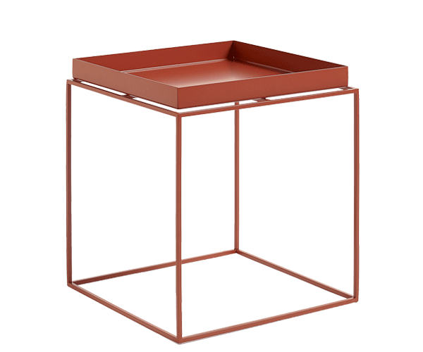 HAY Tray Table - 40x40cm - Red