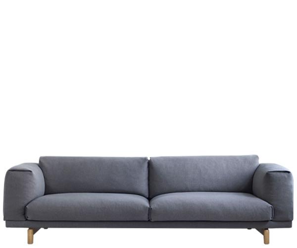 muuto rest sofa 3 pers sofaer sofaer. Black Bedroom Furniture Sets. Home Design Ideas