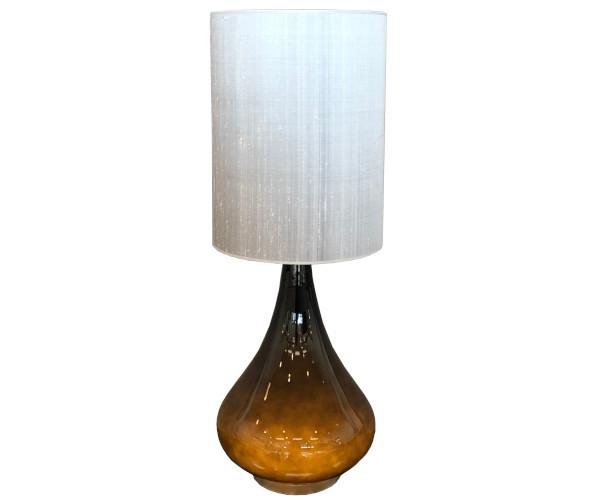 rue verte lampe flavia renata grå silke