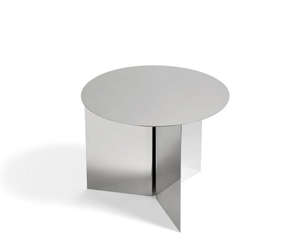 HAY Slit Table - Round - Mirror