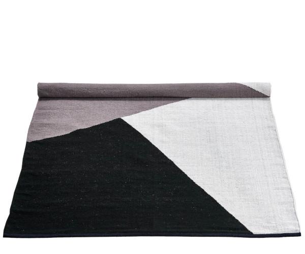rug solid uld tæppe