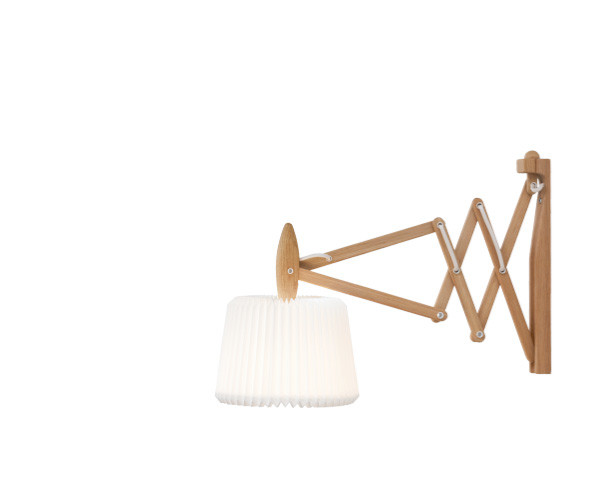 Le Klint 335-120 sax væglampe eg