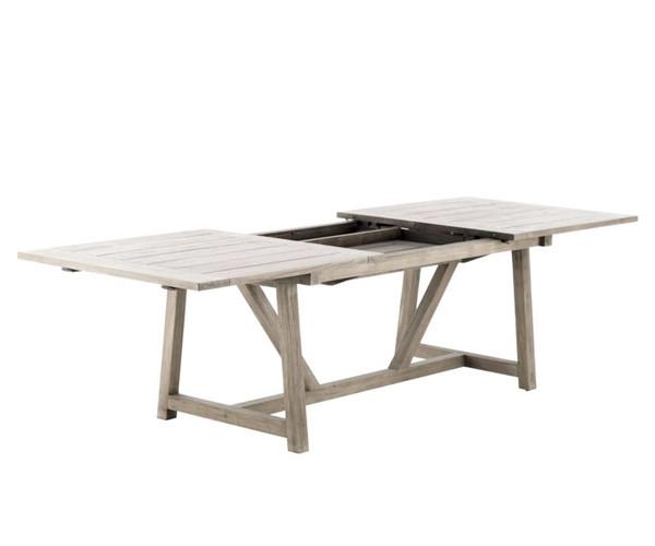 Spisebord med udtræk