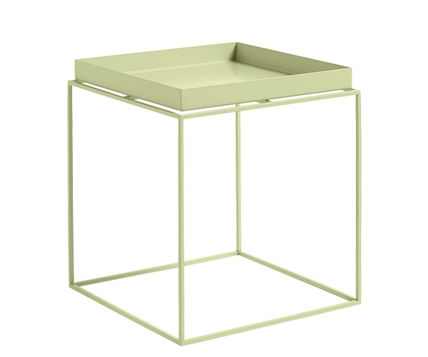 HAY Tray Table - 40x40cm - Soft Yellow