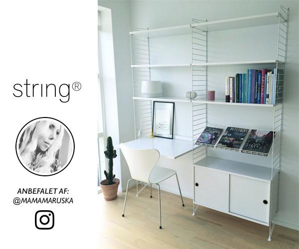 string reol String modulreol hvid   Mamamaruska Instagram Edition   Reoler  string reol