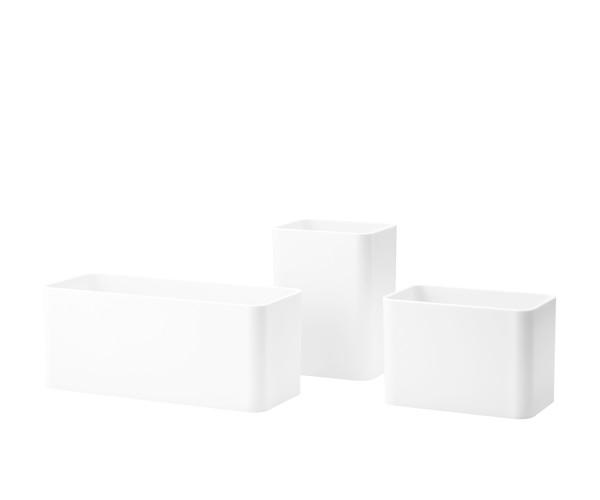 String Organizers - 3pak - Hvid