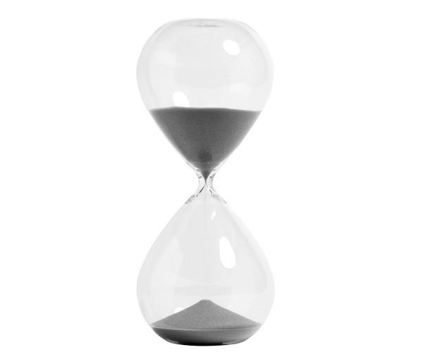 HAY Time - Round XXXL - 120 Minutter - Silver