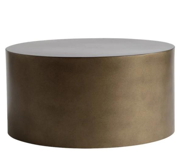 tine k home honey gold metal bord 60x30
