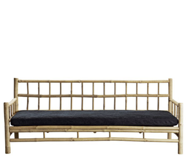 tine k home bambus loungesofa mørkegrå hynde