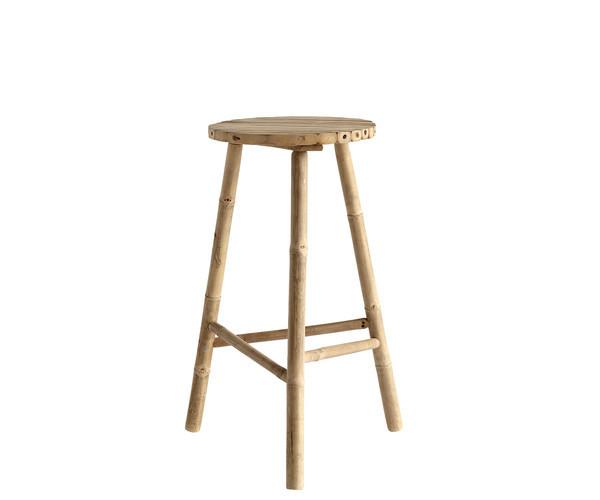 ine k home taburet bambus barstol