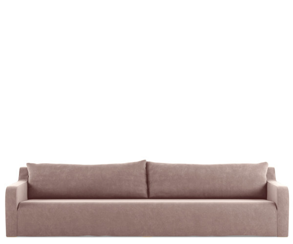 tine k home sofa soft velour rose