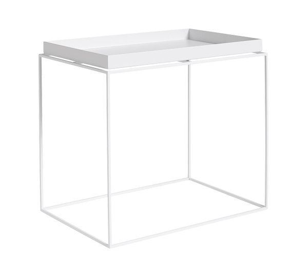HAY Tray Table - 40x60cm - Hvid