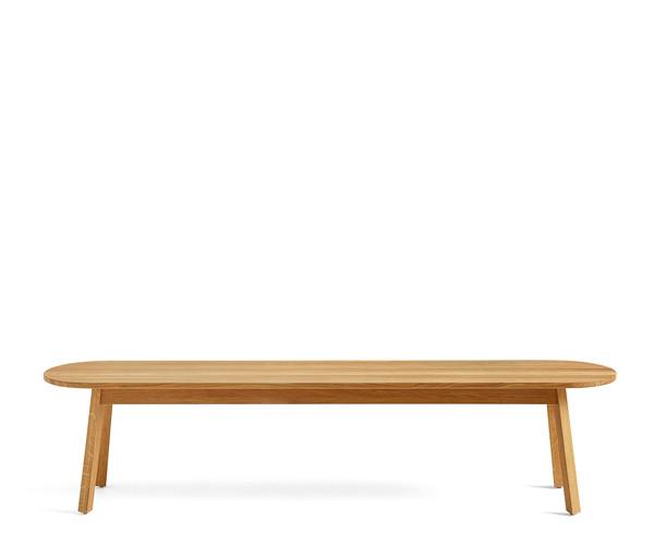 Hay Triangle Bench - 200cm - Sæbe Eg