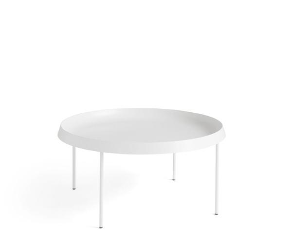 Hay Tulou Sofabord - Hvid - Ø75 cm.