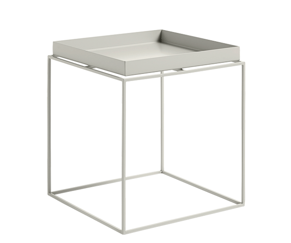HAY Tray Table - 40x40cm - Warm Grey