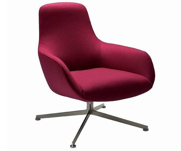 Zanotta Kent Lounge Chair Low
