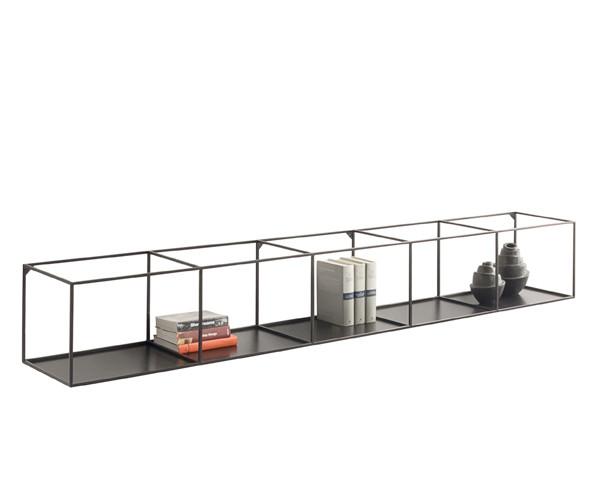 Groovy Zeus Slim Irony Shelf - Væghængt Reol - Large - Reoler - Opbevaring OD22