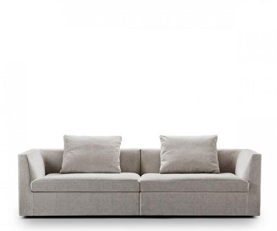 Juul 104 Sofa - 240cm. - Stone Stof
