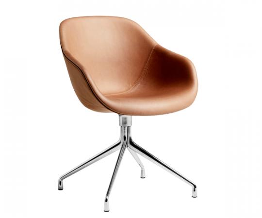 HAY About A Chair (AAC121) - Cognac Læder