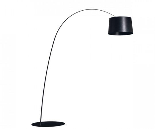 Foscarini Twiggy standerlampe Sort