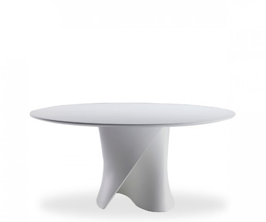 Mdf Italia S Table White - bordplade str Ø140 cm i white wood