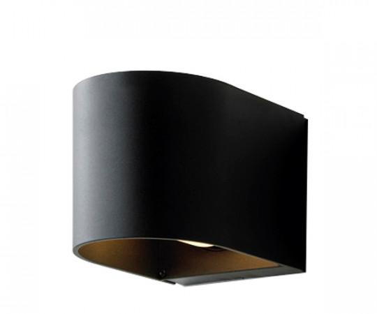 Embacco Light U Væglampe (Sort)