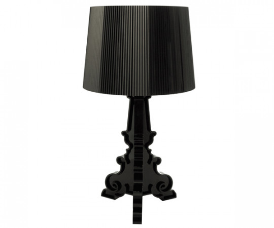 Kartell Bourgie Lampe Sort